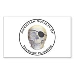 Renegade Plumbers Sticker (Rectangle 50 pk)