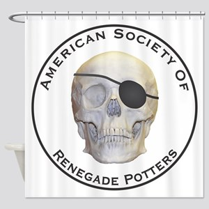 Renegade Potters Shower Curtain