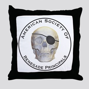 Renegade Principals Throw Pillow