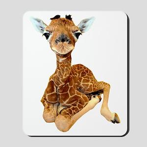 baby giraffe Mousepad