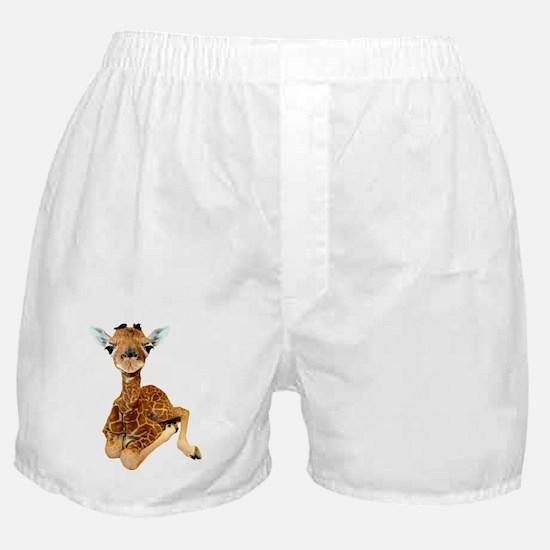 baby giraffe Boxer Shorts