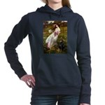 WINDFLOWERS-Dobie1 Hooded Sweatshirt