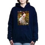 MP-Windflowers-GoldBoomr Hooded Sweatshirt