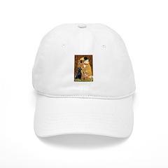 5.5x7.5-Kiss-BlkLab4 Baseball Cap