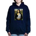 CARD-Mona-Maltese6 Hooded Sweatshirt