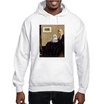 10x14-WMom-Maltese9 Hooded Sweatshirt