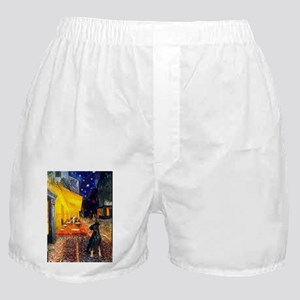 5.5x7.5-Cafe-MinPin2nat Boxer Shorts