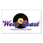 West Coast Golden Goodies Sticker