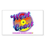 West Coast Golden Goodies Sticker