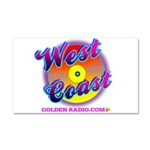 West Coast Golden Goodies Car Magnet 20 X 12
