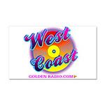 West Coast Golden Goodies Car Magnet 20 X 12