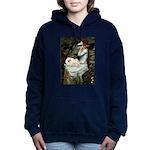 5.5x7.5-Oph2-Peke-G-white4 Hooded Sweatshirt