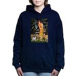 MIDEVE-Pug18-fawnsmile Hooded Sweatshirt