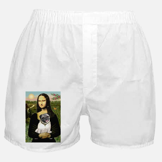 MP-MONA-Pug13-fawn smile.png Boxer Shorts