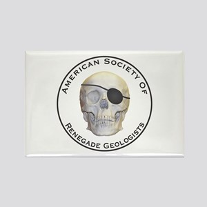 Renegade Geologists Rectangle Magnet