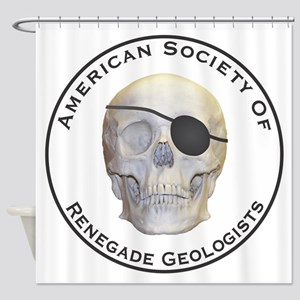 Renegade Geologists Shower Curtain