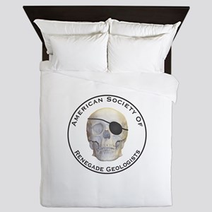 Renegade Geologists Queen Duvet