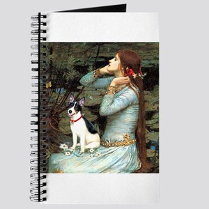 Rat Terrier - Ophelia Seated Journal