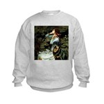 TILE-Oph2-Rottie3 Kids Sweatshirt