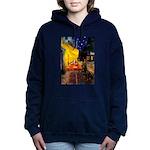 5x7-Cafe-Rottie4 Hooded Sweatshirt