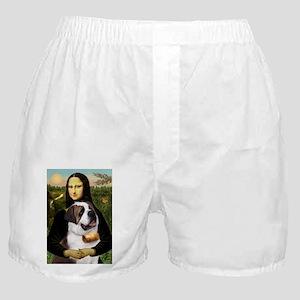 card-Mona-StBernard2 Boxer Shorts