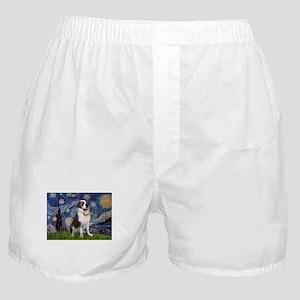 card-Starry-StBernard2 Boxer Shorts