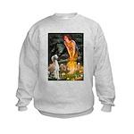 5.5x7.5-MidEve-Saluki Kids Sweatshirt