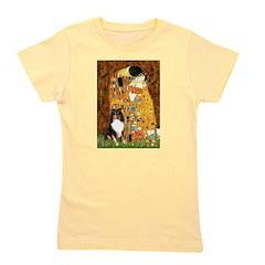 Kiss/Tri Color Sheltie Girl's Tee