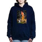 5.5x7.5-MidEve-Corgi-Card5 Hooded Sweatshirt