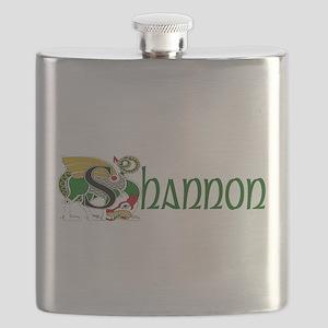 Shannon Celtic Dragon Flask