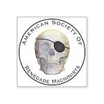 Renegade Machinists Square Sticker 3