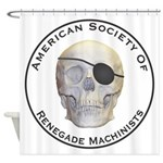 Renegade Machinists Shower Curtain