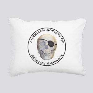 Renegade Machinists Rectangular Canvas Pillow