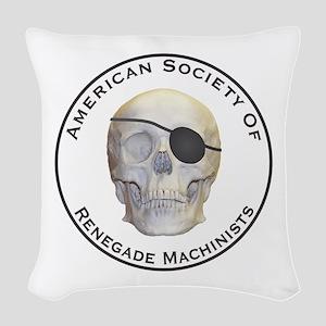 Renegade Machinists Woven Throw Pillow