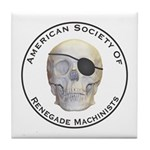 Renegade Machinists Tile Coaster