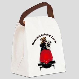 Olympug Bobsled Team Canvas Lunch Bag