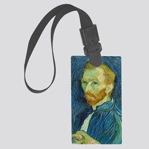Vincent Van Gogh - Self-Portrait Large Luggage Tag