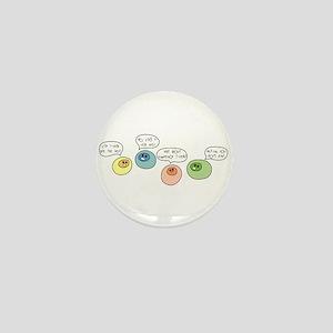 T Cell Wars Mini Button