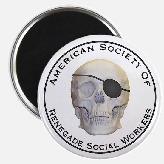 "Renegade Social Workers 2.25"" Magnet (10 pack)"