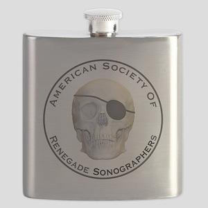 Renegade Sonographers Flask
