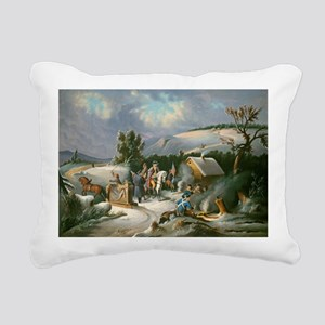 Washington at Valley For Rectangular Canvas Pillow