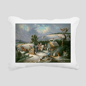 Washington at Valley For Rectangular Canvas Pillow