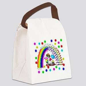 Rainbow Delights Canvas Lunch Bag
