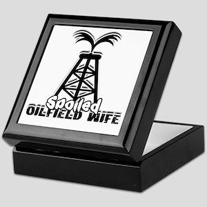 Spoiled Oildfield Wife Keepsake Box