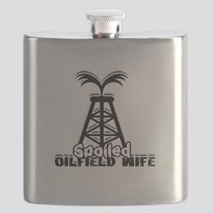 Spoiled Oildfield Wife Flask