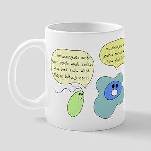 Microbiology Vs Immunology Mug