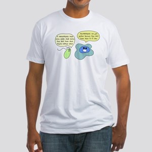Microbiology Vs Immunology Fitted T-Shirt