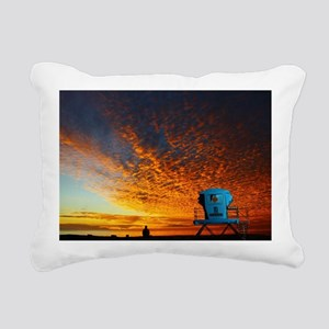 Cardiff Tower One0 Rectangular Canvas Pillow