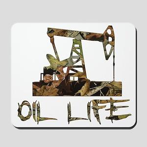 Camo Oil Life Mousepad