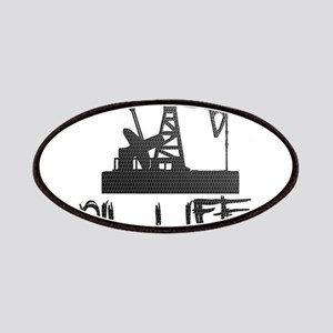 Honeycomb Oil Life Pumpjack Patches